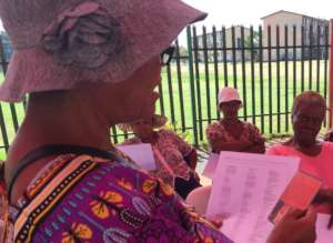 Gogos (Grannies) in Soweto
