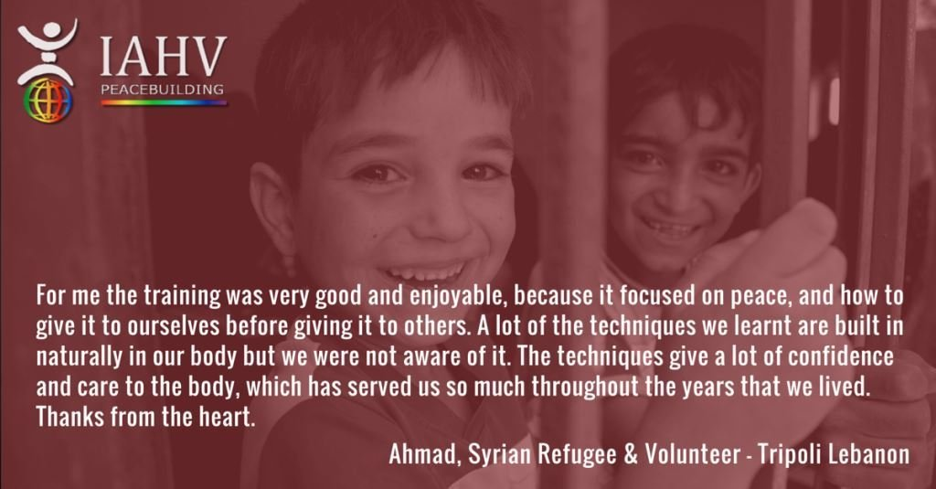 Peace for Syrian Refugee Children