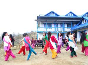beside of study they play, dance & enjoy the life