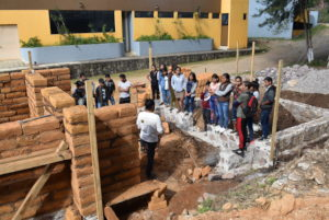 Environmental Classroom construction process