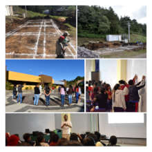 Construction of Environmental Classroom started