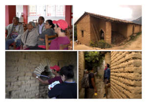 Restoration process of 3 adobe houses in Moyotepec