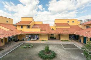 Care home where children live