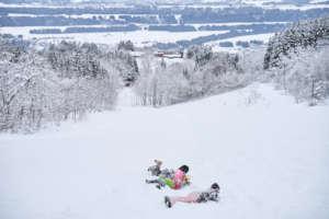 Fun in the snow in 2020