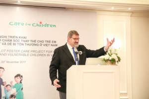 Care for Children's Founder & Executive Director