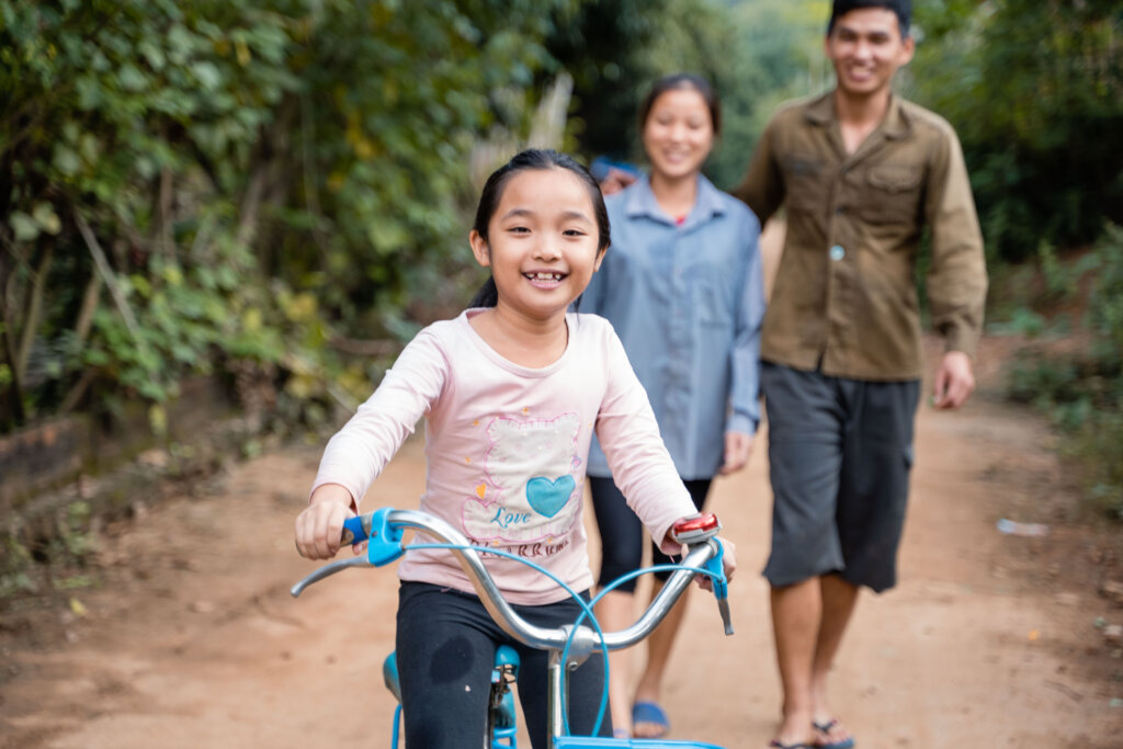 Orphans into foster families in Vietnam