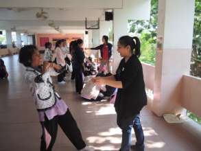 Self Defense with Poy