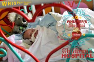 Infant on oxygen