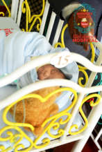 little child admitted at our emergency ward