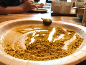 Organic spice blended for curry