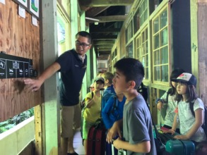 Learning about the sustainable facility