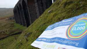 Ribblehead Viaduct in North Yorkshire.