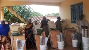 Beehives given in Sipigui
