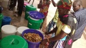 weighing honey in Nefrelaye