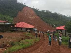 Mudslides in Freetown