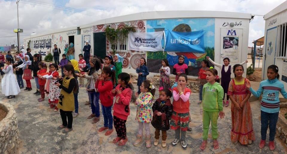 Support Azraq Refugee Camp in Jordan