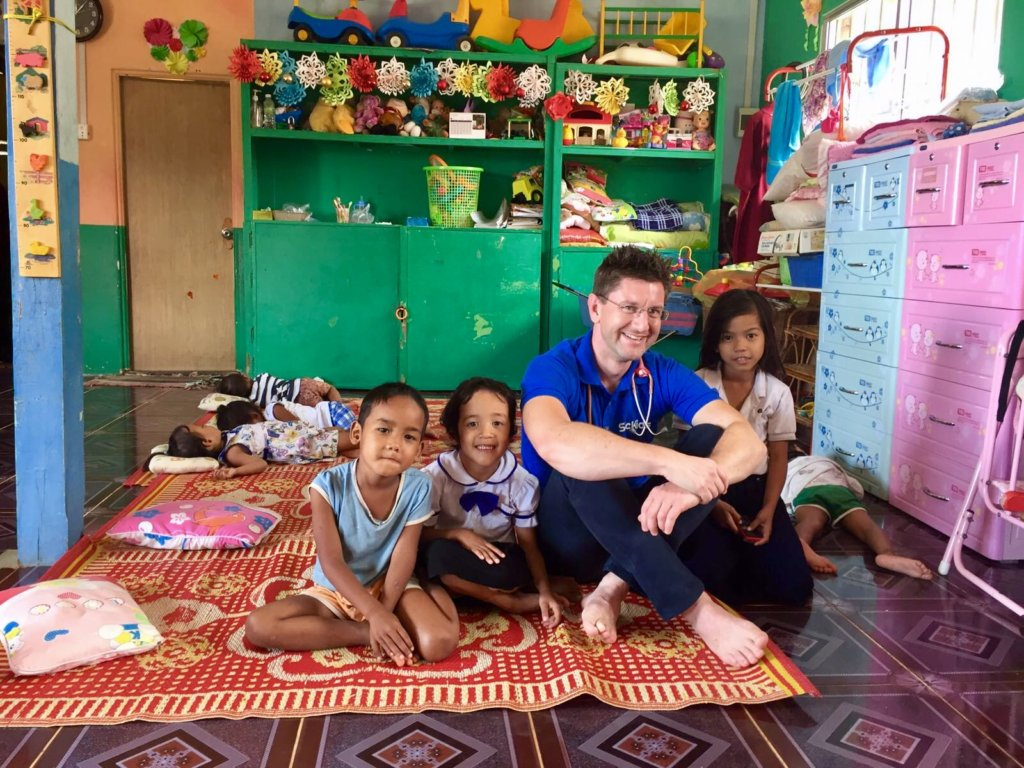 Crowdfunding to build Cambodia's 1st Sensory Room