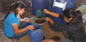 Making organic fertilizers