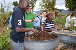Tire Garden training with FONDAMA