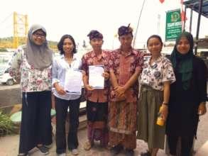 MOU Signing SMA Wisata Darma