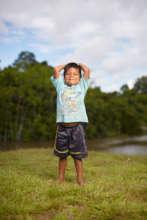 Maijuna child in Sucusari. Photo by W. Martinez.