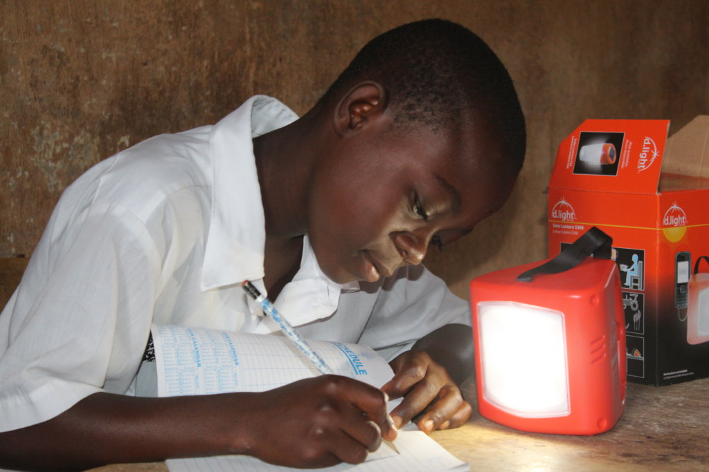 Solar Lights Make Studying Safe in Liberia