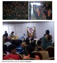 Memorial service to Mr. Ganesh Pulaparthi
