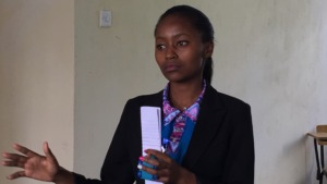 Mirriam - Jitegemee 2016 university graduate