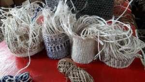 Sisal bags made by Jitegemee parents