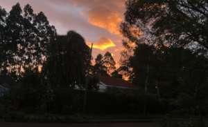 Sunset In Eldoret