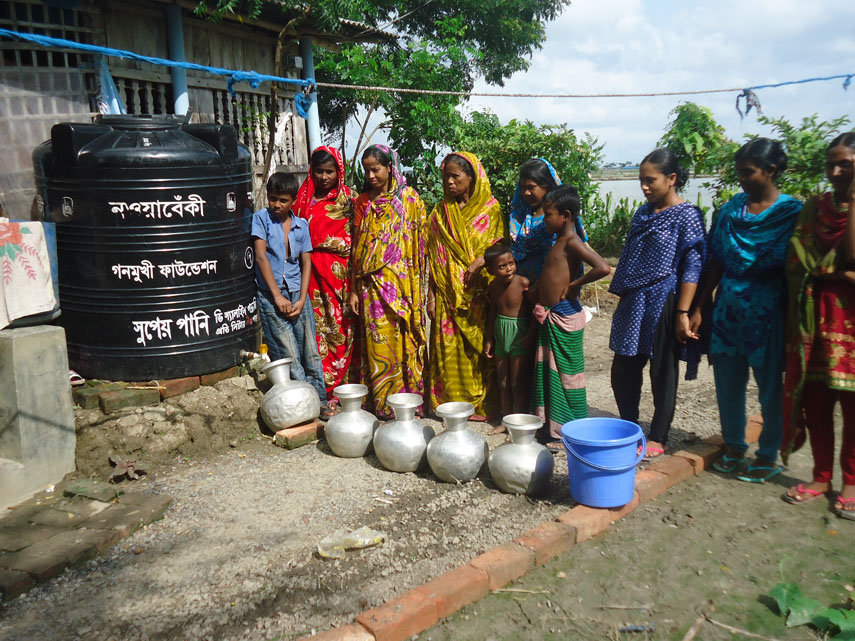 Help the Costal People Get Access to Clean Water