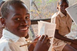 Enjoying a Bush Camp lesson in Zimbabwe