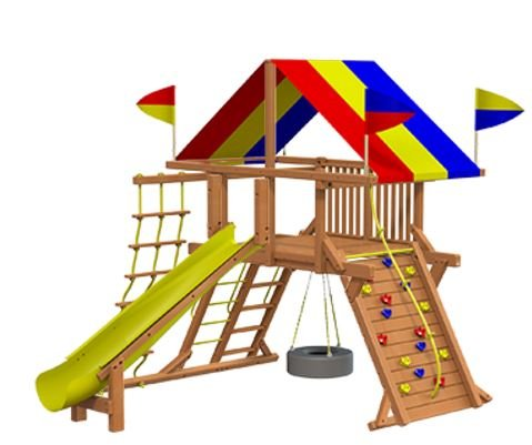 A New Climbing Frame for Children in Refuge