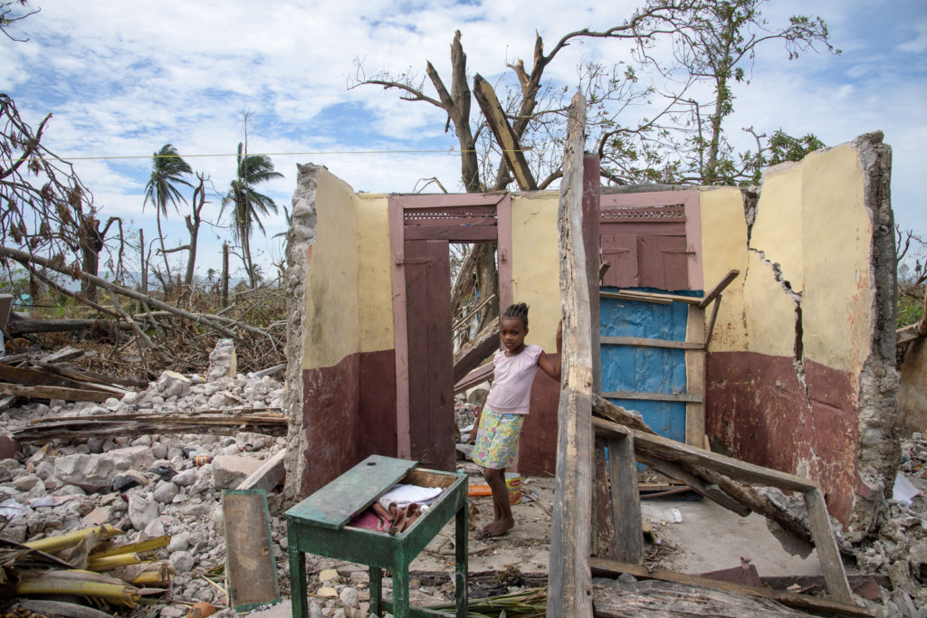 Shelter- and Hygienekits for 50 families in Haiti