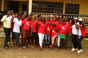 Members of our Girls Leadership Initiative