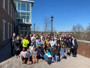 Group photo at Chatham University on IDW2020!