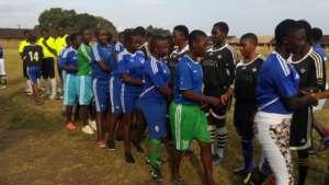 Girls shake hands before every game