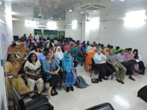 ICPCN supported masterclass in Bangladesh