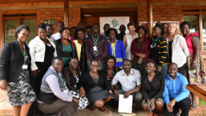 Professionals trained in CPC in Uganda in August