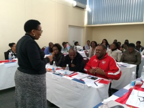 ICPCN Training in Namibia