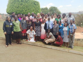 Healthcare workers trained by ICPCN in Kampala