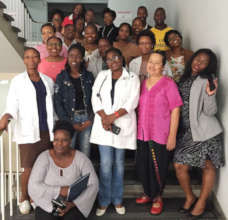 Health Care workers in Mozambique trained by ICPCN