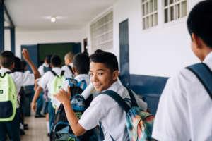 Colon student