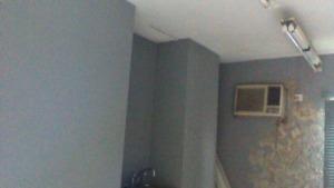 Treatment room before renovation