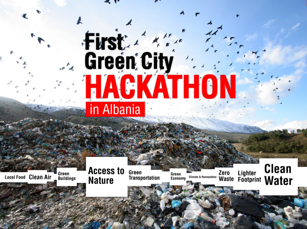 First Green City Hackathon in Albania