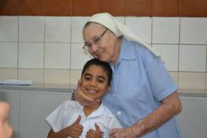Student and Mother Maria Luisa