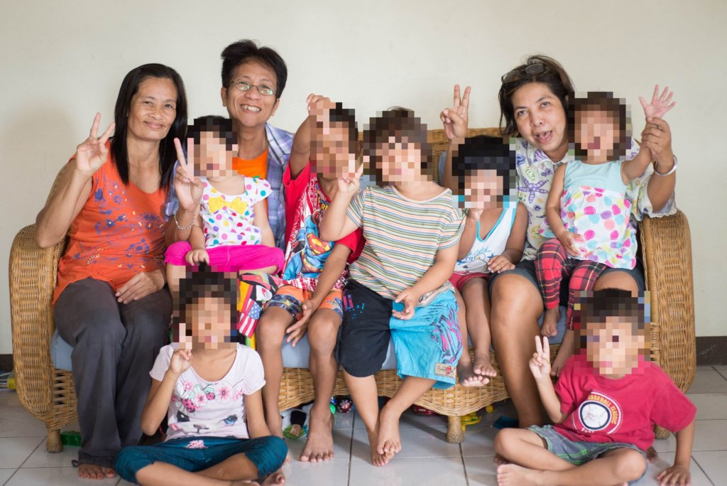 Helping Children from Ex-Sex workers in Thailand