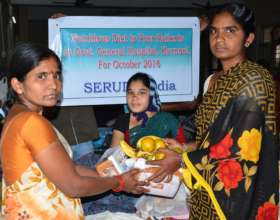 Food Donations to pitiful patients in hospital