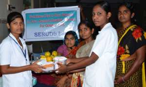 Sponsorship of nutritious food items to poor