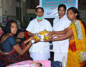 India charity seruds providing nutritious food